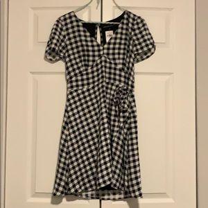 Checkered Abercrombie Wrap Dress NWT!